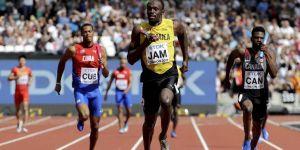 4x100 bayrak yarışında Usain Bolt sakatlandı