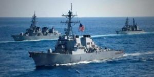 ABD savaş gemisi ile petrol tankeri çarpıştı!