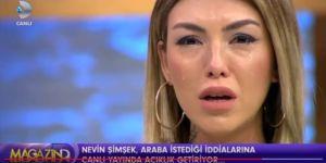 Mehmet Ali Erbil'in hamile bıraktığı sevgilisi Nevin Şimşek canlı yayında ağladı