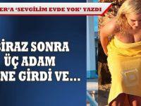 TWİTTER'E 'SEVGİLİM EVDE YOK' YAZDI