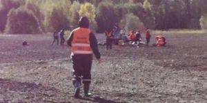 Dünya Ralli Şampiyornası'nda helikopter düştü