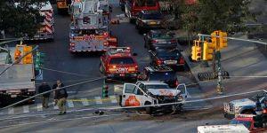New York'ta yayaların arasına dalan kamyonetten etrafa ateş açıldı