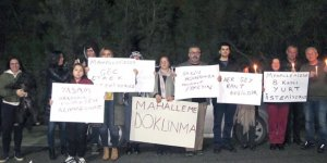 """""""ÖĞRENCİ YURDU İSTEMİYORUZ!"""""""