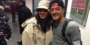 Mesut'tan Rihanna paylaşımı