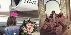 Düşen jette olan Mina Başaran'ın paylaştığı son fotoğraflar