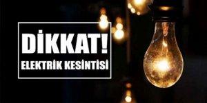 DİKKAT ELEKTRİK KESİNTİSİ!