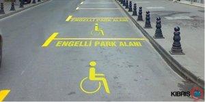 """ENGELLİYE """"ENGELLİ PARK"""" CEZASI!"""