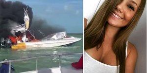 Teknedeki patlama genç dansçının ailesini üzdü!