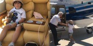 Ağaoğlu oğlu için helikopter gönderdi!