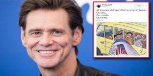 Jim Carrey'den büyük tepki