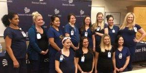 Herkes bu hastaneyi konuşuyor… 16 hemşire birden hamile!