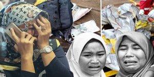 Endonezya'da facia: Uçak, 188 yolcusuyla okyanusa düştü