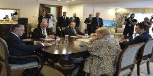 Cumhurbaşkanı Akıncı, BM Yetkilisi Luke ile Görüştü