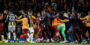 Olaylı Galatasaray Fenerbahçe maçının ardından 16 kişi disipline sevk edildi