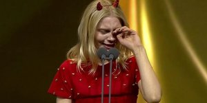 Aleyna Tilki gözyaşlarını tutamadı!