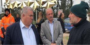 TKP'DEN CAS ÇALIŞANLARINA DESTEK ZİYARETİ