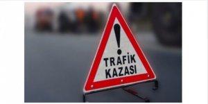 TAŞPINAR'DA FACİ KAZA!