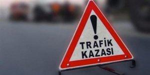 Boğazköy'deki trafik kazasında 2'si çocuk 3 kişi yaralandı