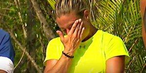 Survivor Afroditi gözyaşlarını tutamadı