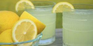 Limon suyu içenler dikkat!
