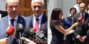 UBP VE HP MECLİS'TE AYRI AYRI GRUP TOPLANTISI YAPTI