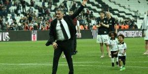 Beşiktaş'a böyle veda etti!