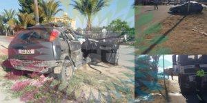 Salon araç ile kamyon çarpıştı: 1 ölü!