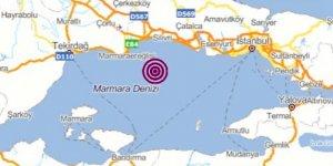 İstanbul'da 6,0 büyüklüğünde korkutan deprem!