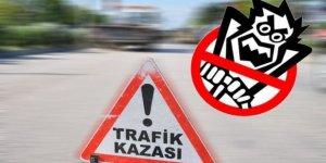 LEFKOŞA'DA TRAFİK KAZASI!