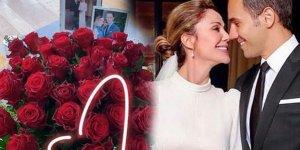 Demet Şener ve Cenk Küpeli dördüncü aylarını kutladı