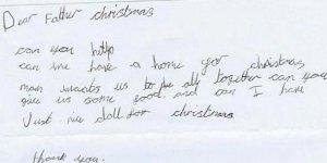Mektubu internette yayılınca 44 bin lira yardım toplandı