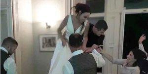 Daha düğün sürerken boşanmaya karar verdiler!