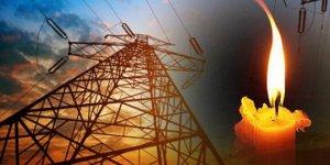 Yarın elektrik kesintisi yapılacak