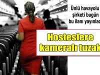 HOSTESLERE KAMERALI TUZAK