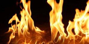 Girne'de bir evde yangın çıktı!