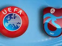 UEFA'DAN TRABZONSPOR'A ŞOK