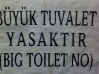 BU TUVALETLER SADECE TÜRKİYE'DE