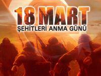 18 MART ŞEHİTLER GÜNÜ MESAJI