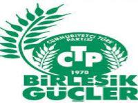 CTP-BG YEREL SEÇİMLERLE İLGİLİ ŞÖLEN DÜZENLEYECEK