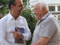 HARMANCI VE EKİBİ TAŞKINKÖY'Ü ZİYARET ETTİ
