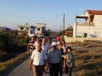 KIZILGÖK, GAZİVEREN'İ ZİYARET ETTİ