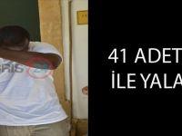 41 ADET LSD İLE YALANDI