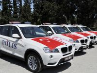 POLİS'E 8 ADET BMW DEVRİYE ARACI