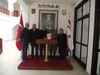 ŞEHİT AİLELERİ DERNEĞİ ALBAY OSMAN AKKOÇ'U ZİYARET ETTİ