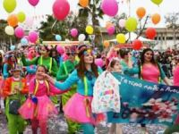 Limasol Karnavalı'ndan Renkli Görüntüler...