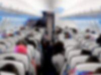 Uçakta taciz şoku