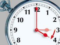 Saatler 1 Saat İleri....