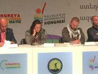 """""""1. ORTADOĞU DEMOKRATİK GENÇLİK"""" KONGRESİ"""