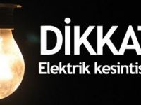 ELEKTRİK KESİNTİSİ