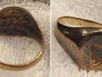 Kaybolan yüzüğünü Facebook sayesinde buldu!